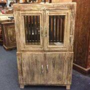 k74 84 indian furniture cabinet deep 4 doors front