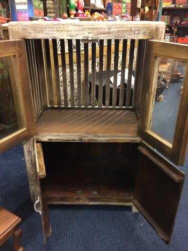 k74 84 indian furniture cabinet deep 4 doors open