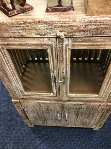k74 84 indian furniture cabinet deep 4 doors close