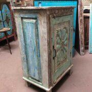 k74 3100 old floral door cabinet mint left